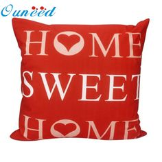 letters fashion decorative vintage Cushion Cover Home Decor throw pillow covers funda cojin quality first Linen