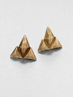 Bing Bang - Skull Stud Earrings - Saks.com