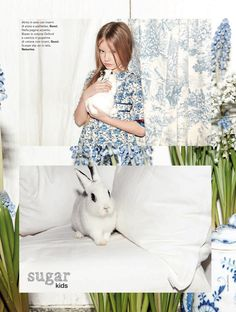 Anya from Sugar Kids for Marie Claire Enfants by Achim Lippoth. 6544850973360