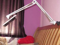 Sugru ipad case to ikea desk lamp = ipad stand