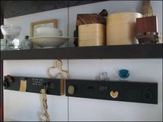 Magnetic chalkboards / Kotonadesign Magnetic Chalkboard, Floating Shelves, Chalkboards, Home Decor, Decoration Home, Room Decor, Wall Mounted Shelves, Chalkboard, Interior Design