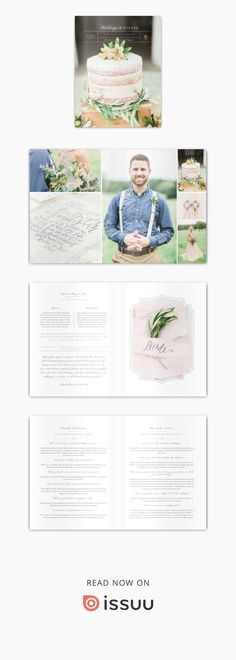 Magazine template for wedding planners & photographers: This template contains pre-written content within a beautiful design, allowing wedding professionals to send their brides & grooms all the information they need to know about the plannin. Photography Templates, Photography Pricing, Wedding Photography, You Better Work, Wedding Planners, Magazine Template, Grooms, Portrait Photographers, Bride Groom