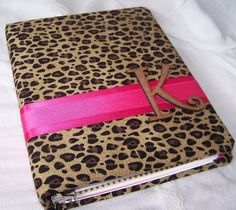Perfect Cheetah Guest Book Cheetah Print And Hot Pink Bridal By Itsmyday, $56.00