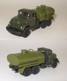 ZIL-131 Tankwagen Militar UdSSr DDR NVA - 1:87 HO handmade
