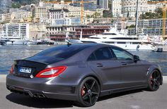 Rating and specs of Mercedes-Benz CLS 63 AMG German Special Customs - top speed 350 kph, power 750 hp.