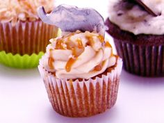 Salted Caramel Cupcake Recipe : Food Network - FoodNetwork.com