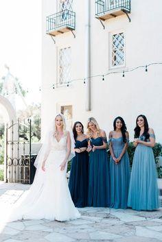Bridesmaid Separates, Teal Bridesmaid Dresses, Blue Bridesmaids, Wedding Bridesmaids, Teal Wedding Dresses, Wedding Ideas Blue, Bridesmaid Color, Wedding Dress Shopping, Wedding Attire