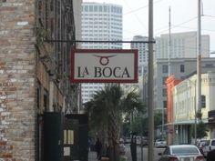 Birthday Dinner @ La Boca, New Orleans