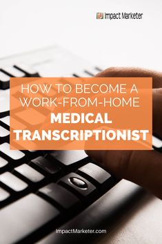 This review will teach you how to become a medical transcriptionist and work from home. So you can call your own shots right from the comfort of your own home. Click through to check it out! #medicaltranscriptionist #workfromhome