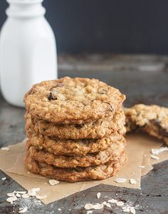 My Favorite Oatmeal Raisin Cookies (Tracey's Culinary Adventures).