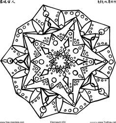 more mystical mandalas coloring book: by the illustrator, alberta ... - Mandala Snowflakes Coloring Pages