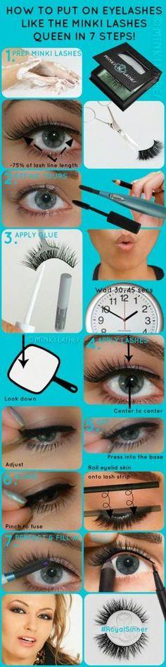 How to Put on Eyelashes by Minki Lashes