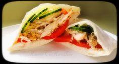 We are definitely trying this recipe next week: slow cooker Greek turkey pitas.