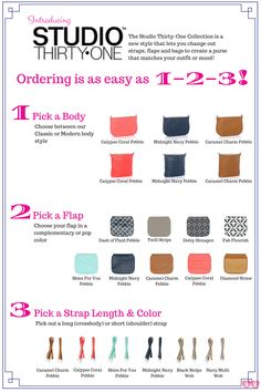 Studio Thirty-One lets you create your own bags! Order them at www.ohmytote.com