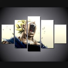 DRAGON BALL Z - SUPER SAIYAN 5 PIECE CANVAS