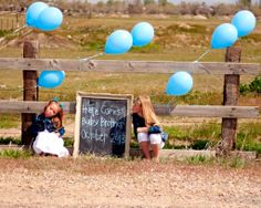 Measured by the Heart: Gender reveal photo shoot