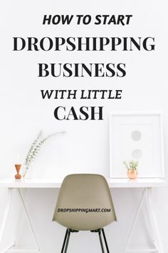 How To Start A Drop Shipping Business With Little Cash ..This is perfect side hustle for at home stay moms or nine to five people that want to start their home based business. Check it out