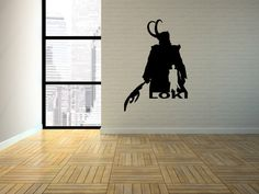 A personal favorite from my Etsy shop https://www.etsy.com/listing/221878470/avengers-loki-brother-of-thor-silhouette