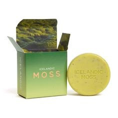 Shop Icelandic Moss Soap from KALA and hundreds of other Bath & Shower products at Smallflower Skincare Packaging, Soap Packaging, Cosmetic Packaging, Packaging Design, Black Packaging, Packaging Ideas, Sage Essential Oil, Natural Cleanse, Cosmetic Design