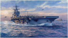 Aviation art by Tom Freeman Military Art, Military History, Navy Carriers, Ship Paintings, Naval History, Aviation Art, Ship Art, Modern Warfare, Aircraft Carrier