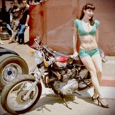 Triumph model of the day (Inazumized)