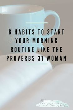6 Habits To Start Your Morning Routine Like The Proverbs 31 Woman. Proverbs 31 women and raising Christian children. Creating a home of worship and faith. Christian living and overcoming challenges. Messages and devotional thoughts on Christian living. Bible Scriptures, Bible Quotes, Bible Prayers, Jesus Quotes, Devotional Quotes, Spiritual Encouragement, Daily Devotional, Devotional Ideas, Devotional Journal