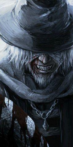 #Bloodborne #art  #boss #Father Gascogne