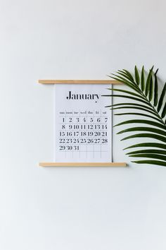 As far as free calendar printables go I think I'm running a little bit late with my offering, but then again my January's are usually bookmarked for catching up, catching my breath and (another catching …