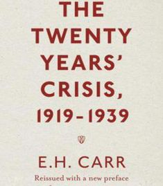 The Twenty Years' Crisis 1919-1939: Reissued With A New Preface From Michael Cox PDF