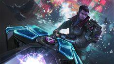 League Fan Art Showcase - Project Jayce, Lekso Tiger Mmorpg Games, Fanart, Riot Games, Thing 1, Shadowrun, Blade Runner, Master Chief, Cyber, Character Art