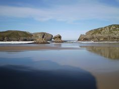 PLAYA DE BORIZO (ASTURIAS): Another beach in northern Spain which will take your breath away.