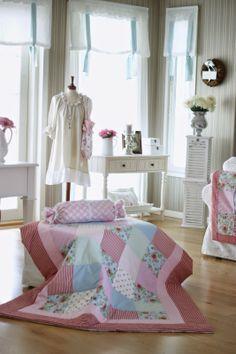 Wilhelmiina's Home: New Quilt