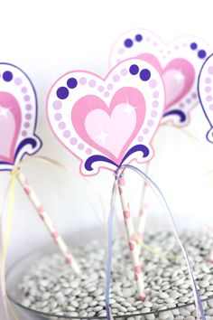 Wants and Wishes: Party planning: Princess Tea Party Birthday Collection - very cute & affordable idea for a favor (pinned for inspiration)