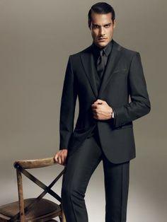 Corneliani Formal Wear - Black Suit