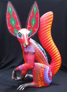 Alebrije -  Oaxacan-Mexican folk art sculptures of fantastical creatures