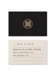 Mal de Mar. by Face.    The Beauty of Corporate Identity