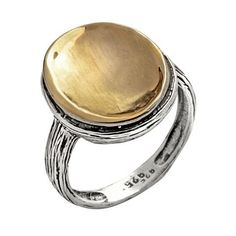 Ring by Yaron Morhaim (he also has a matching pendant)