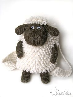 "Shaun the Sheep! Ravelry: belochka's backpack ""Sheep"""