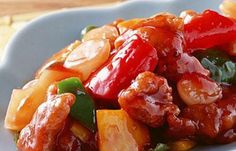 Sweet and sour pork featured with a bright orange-red color and a sweet and sour taste is a Chinese dish that is particularly popular in Cantonese cuisine...