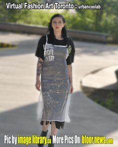 Art Toronto, Virtual Fashion, Sora, Live Music, Newspaper, Fashion Art, Models, Tv, Printed