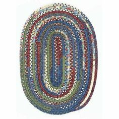 "Thimbleberries Picnic Basket Oval Braided Rug Size: Oval 27"" x 46"" by Colonial Mills. $80.00. TC47R027X046 Size: Oval 27"" x 46"" Warm, reversible design Features: -Braided in the USA from 50pct cotton and 50pct polyester.-Reversible.-Alternating potpourri style. Options: -Available in the following sizes: Oval: 17'' x 27'', 22'' x 34'', 27'' x 46'', 42'' x 66'', 5' x 7', 6' x 9', 8' x 10', 9' x 12', 11' x 14, Round: 3' x 3', 5' x 5', 7' x 7', 9' x 9', Runner:2' x 5', 2' ..."