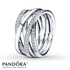Intertwined - new ring that is already a Pandora best seller!