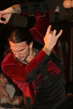 Flamenco dancer.: