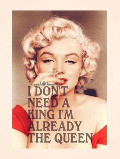 Marilyn for sure is the Queen!