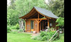 Fairytale Backyards 30 Magical Garden Sheds Local Garden Shed Landscape Ideas 10x10 Shed Plans, Storage Shed Plans, Boat Building Plans, Building A Shed, Building Ideas, Building Design, Woodworking In An Apartment, Shed Landscaping, Cheap Sheds