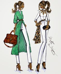 Hayden Williams Fashion Illustrations Day to Night