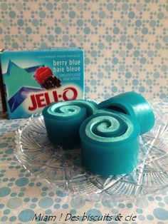 Rouleau de Jell-O - Miam ! Des biscuits