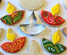Limited Edition Exclusif Diwali Diya Festival Cookie Cutters PATENT PENDING