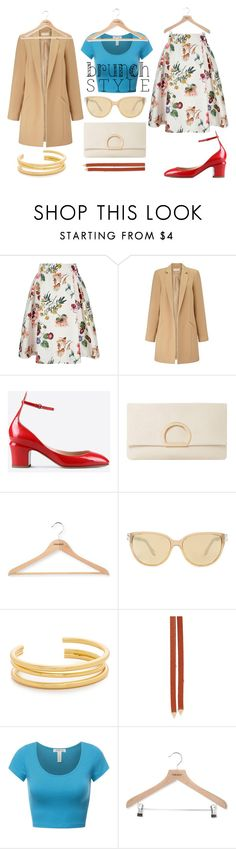 """""""BRUNCH style"""" by annabellechic ❤ liked on Polyvore featuring Yumi, Miss Selfridge, Valentino, Dune, PERIGOT, Givenchy, Madewell and Loren Stewart"""