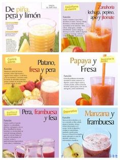 Detox Juices for Weigh Loss Lose Belly - Cocteles Bebidas - - Detox Diet Drinks, Natural Detox Drinks, Healthy Juice Recipes, Healthy Juices, Healthy Smoothies, Healthy Drinks, Organic Juice Cleanse, Detox Juice Cleanse, Detox Juices